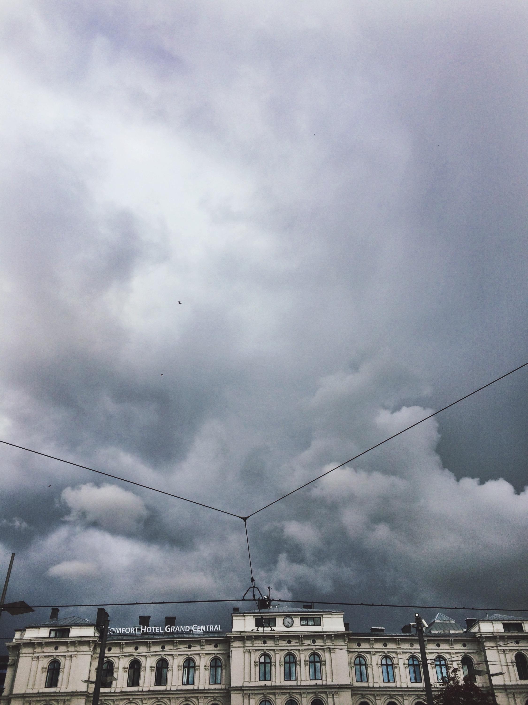 En regnværsdag.